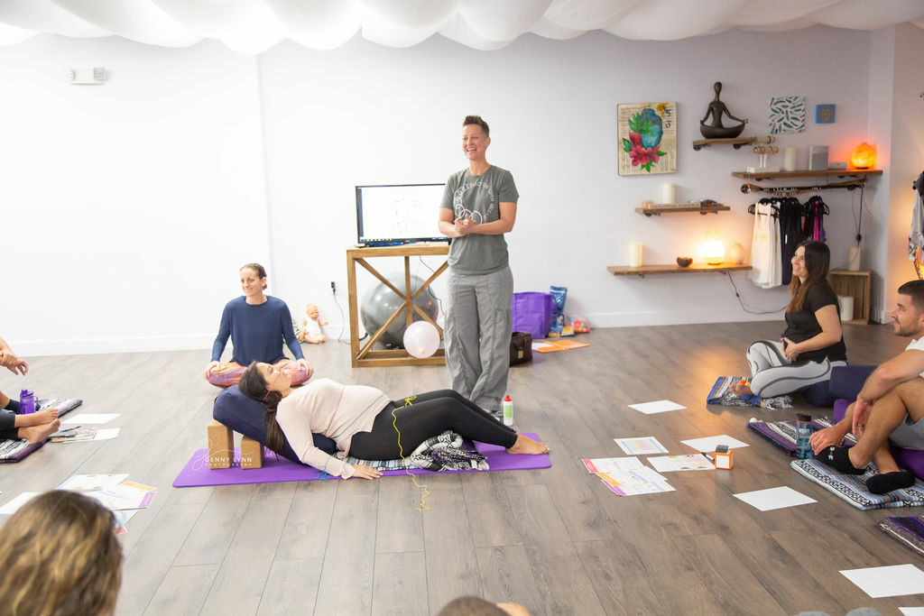 childbirth class at the yoga nest cooper city florida