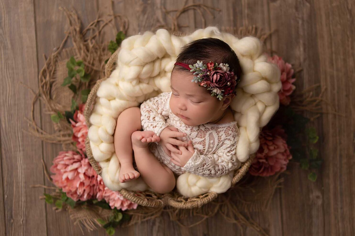 newborn photographer coral springs